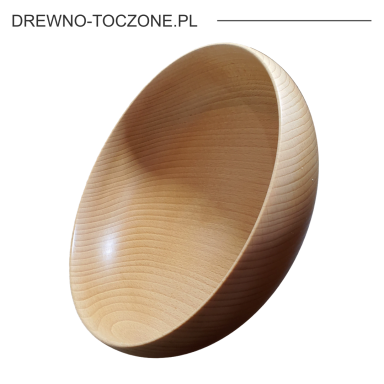 Miska oryginalny kolor drewna bukowego